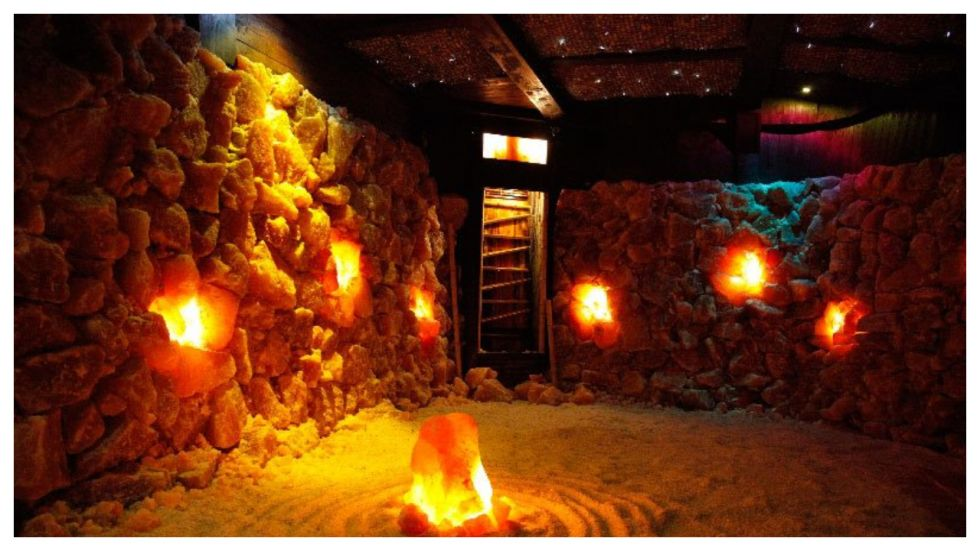 How salt therapy contribute to overall well-being (Photo: Twitter)