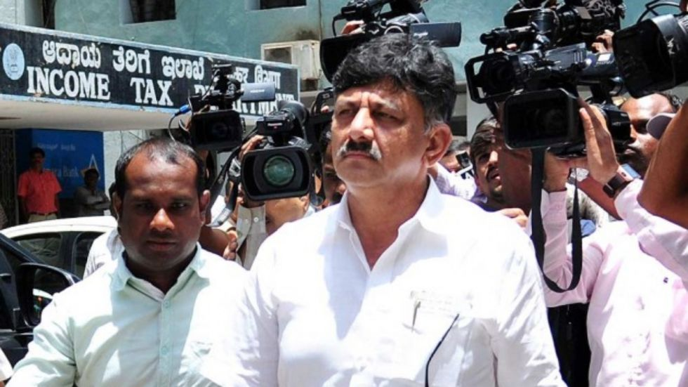 DK Shivakumar has been arrested in a money laundering case by Enforcement Directorate (Image: PTI)