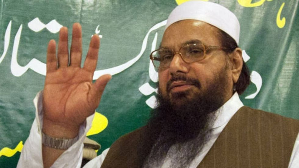 Hafiz Saeed's bank accounts were frozen after being declared a global terrorist (Image: PTI File)