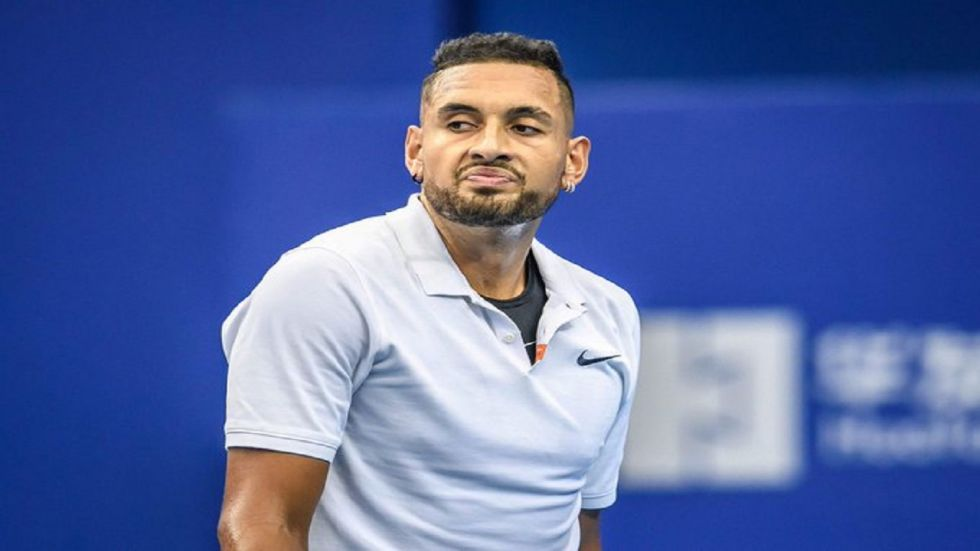 Nick Kyrgios was fined USD 113,000 for ball abuse, leaving the court without permission, an audible obscenity, unsportsmanlike conduct, resulted in disqualification and for throwing a chair during the past one year. (Image credit: Twitter)