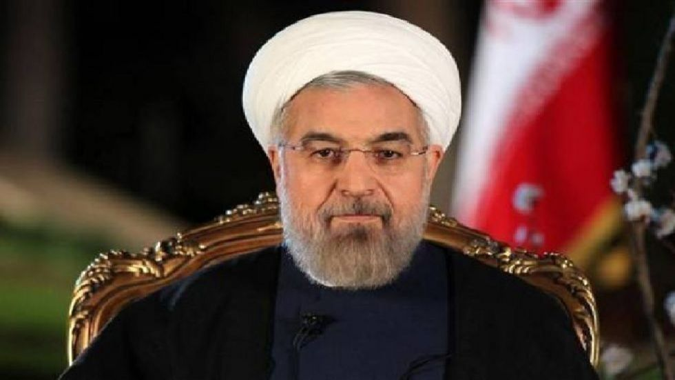 Rouhani used his time at the podium to appeal to Iran's neighbours. (File Photo)