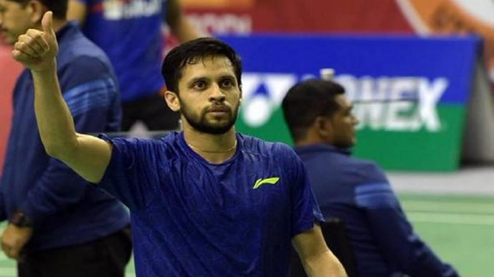 Parupalli Kashyap is the lone Indian player in the fray in the Korea Open but he faces a tough contest against Kento Momota. (Image credit: Twitter)