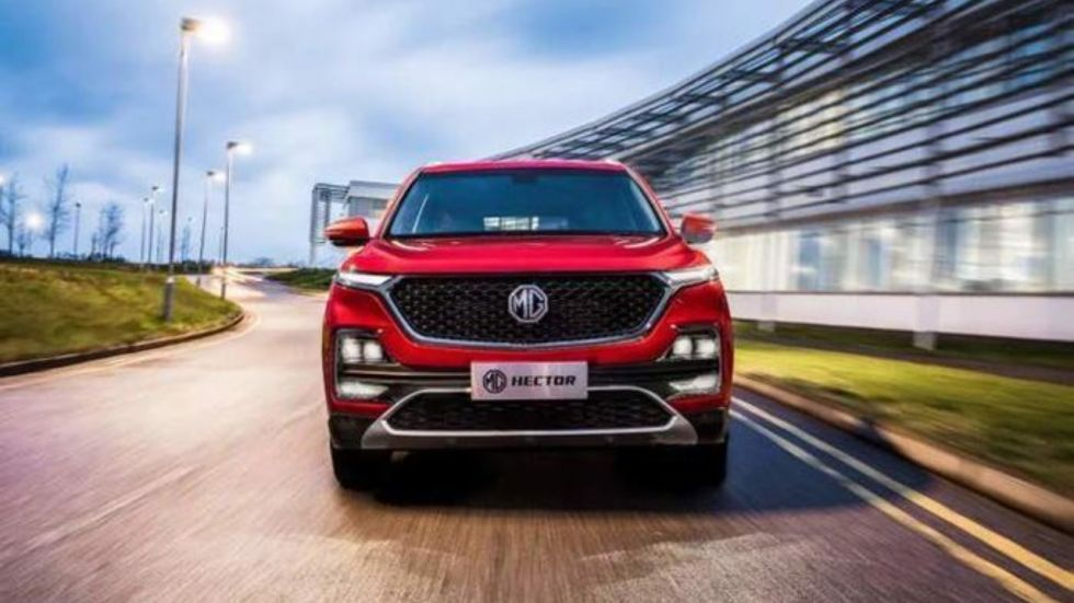 MG Hector Bookings To Reopen On September 29 (Photo Credit: Twitter/@vishnubolt)
