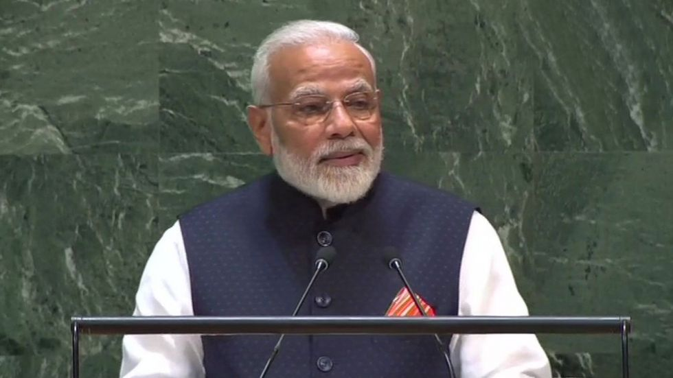 PM Modi said it is a very special occasion because this year the entire world is celebrating the 150th birth anniversary of Gandhi.