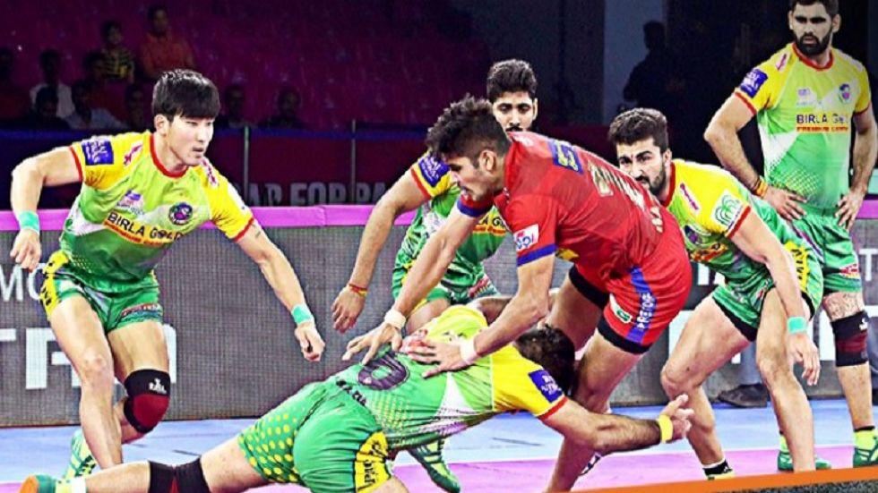 Pro Kabaddi League: Dabang Delhi Beat Patna Pirates 43-39  (Image credit: Twitter/ProKabaddi)