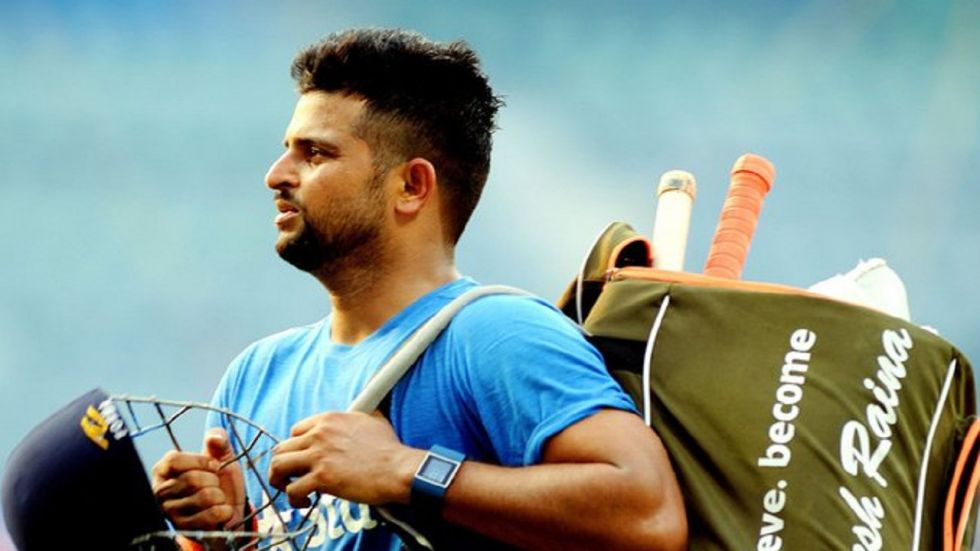 Suresh Raina has not played for the Indian cricket team since the 2018 series against England. (Image credit: Twitter)