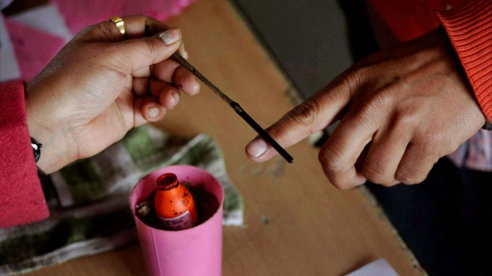 Voting for the bypolls took place on September 23 (Image: PTI)