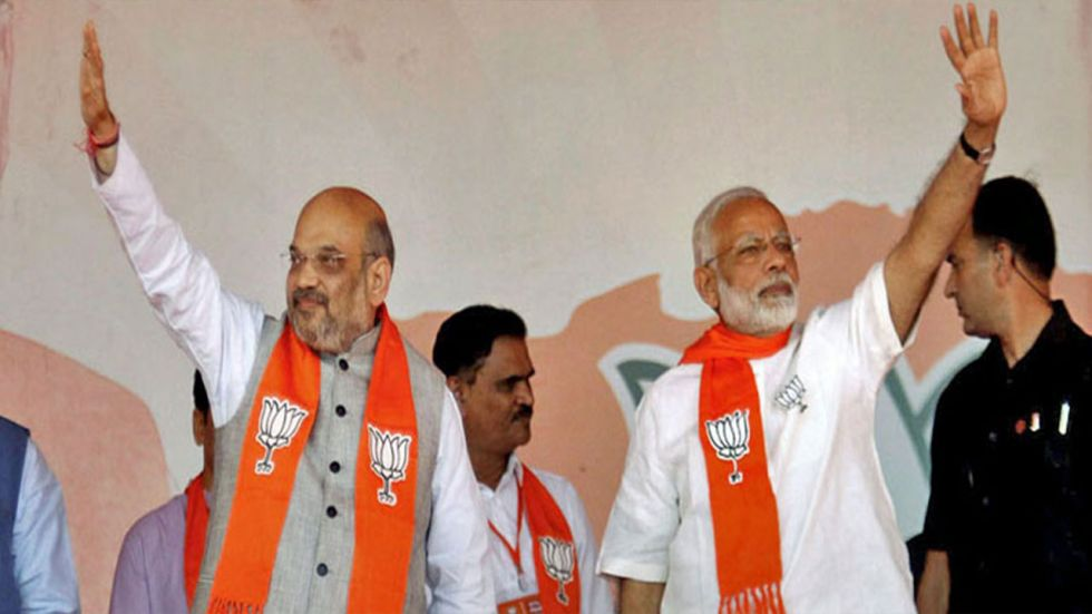 Amit Shah said PM Modi's leadership is a beacon of hope for 'New India', which is full of possibilities.