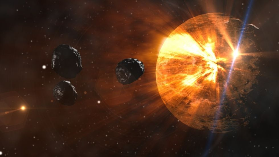 Three Deadly Space Rocks Dangerously Approaching Earth (Photo Credit: Pixabay.com)