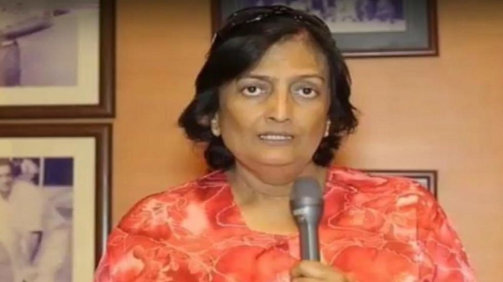 Shantha Rangaswamy, who was a member of the CAC along with Kapil Dev and Anshuman Gaekwad, chose the head coach of the Indian cricket team. (Image credit: Twitter)