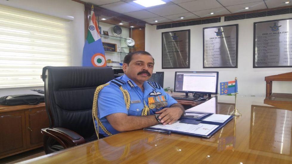 Air Chief Marshal Rakesh Kumar Singh Bhadauria (Photo Source: Twitter - @IAF_MCC)