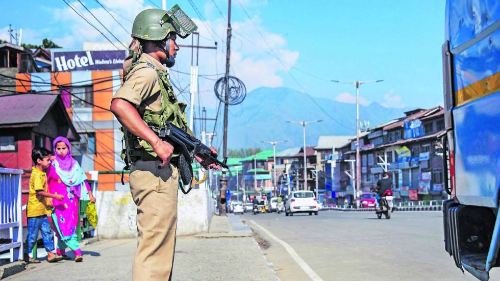 Centre on August 5 moved to end special status to Jammu and Kashmir (Image: PTI)