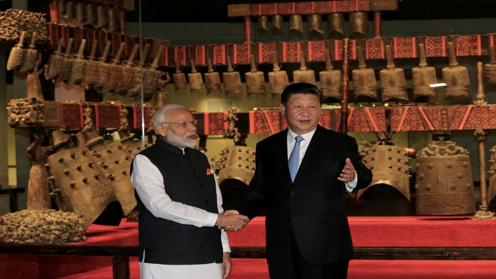 """""""India cherishes its friendship with China,"""" Modi wrote on Weibo. (Photo Credit: Reuters)"""