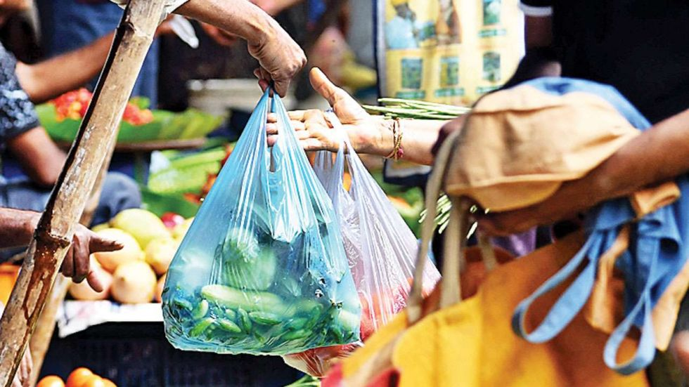 People carrying plastic bags in Delhi market (Representational Image)