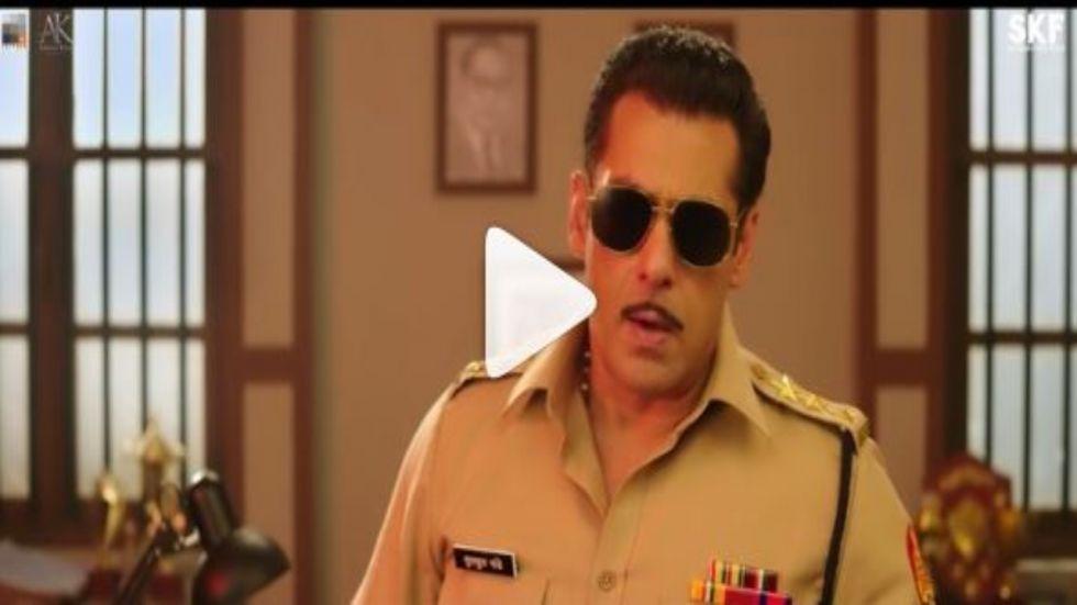 Dabangg 3: Salman Khan introduces Chulbul Pandey