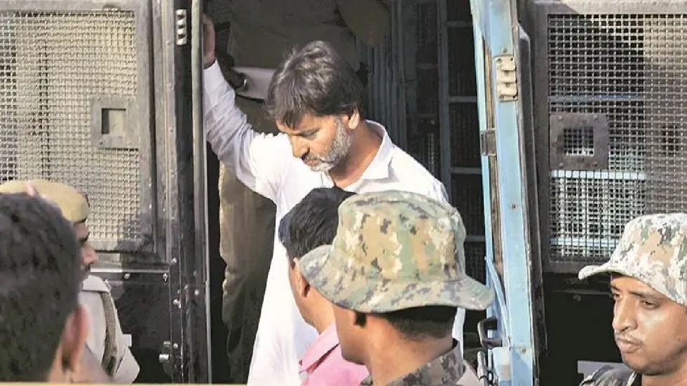 Court also allowed Yasin Malik to be produced before the Court via video conferencing (File Photo: PTI)