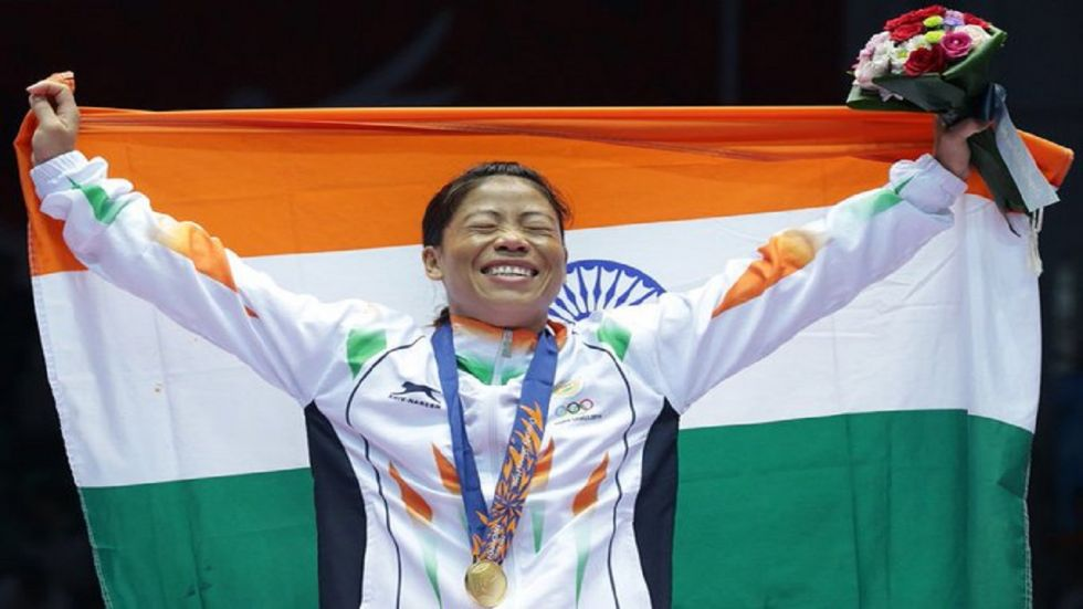 MC Mary Kom will be bidding to win a medal in the 51kg category for the first time during the World Boxing Championships. (Image credit: Twitter)