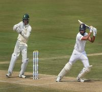 Rohit Sharma Ton Flattens South Africa, Rain Truncates Play In Vizag