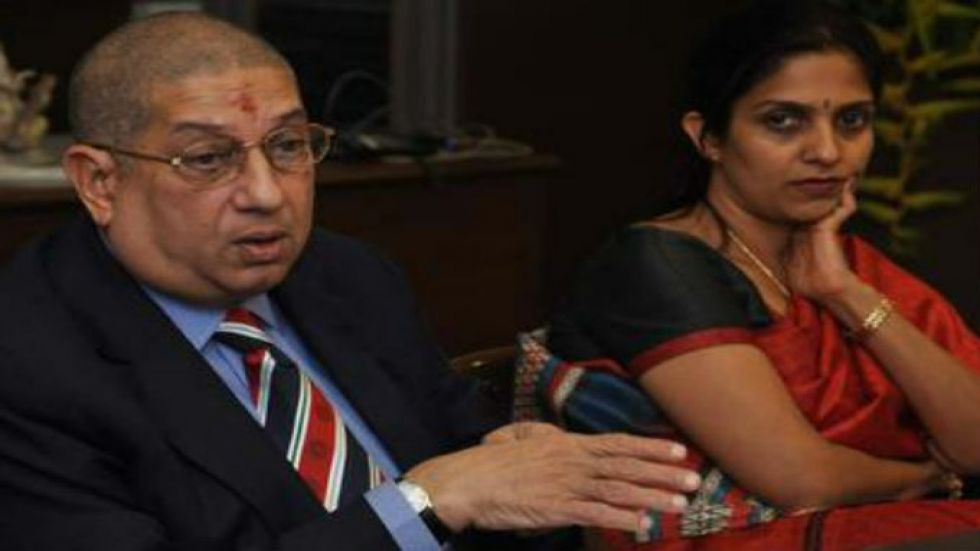 Former BCCI president N Srinivasan's daughter Rupa is currently the president of the Tamil Nadu Cricket Association. (Image credit: Twitter)