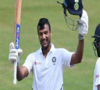Mayank Agarwal Blasts Maiden Double Ton, India On Top Vs South Africa