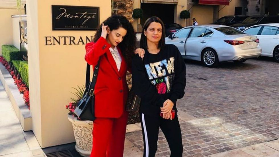 Rangoli Chandel Opens Up On Acid Attack, Recalls When Kangana Was 'Almost Beaten To Death' (Photo Credit: Instagram)