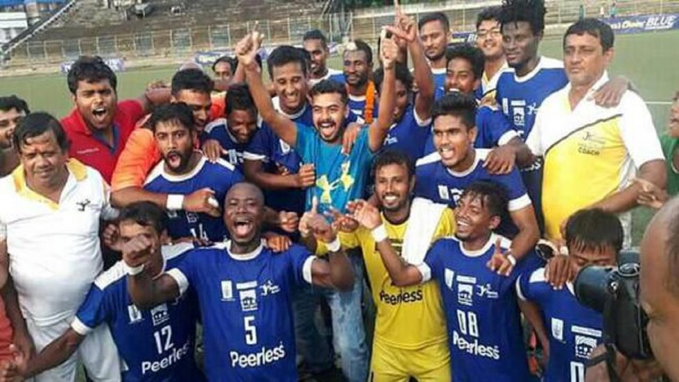 Peerless SC are all set to become the first club outside of Mohun Bagan, Mohammedan Sporting and East Bengal to win the Calcutta Football League title.