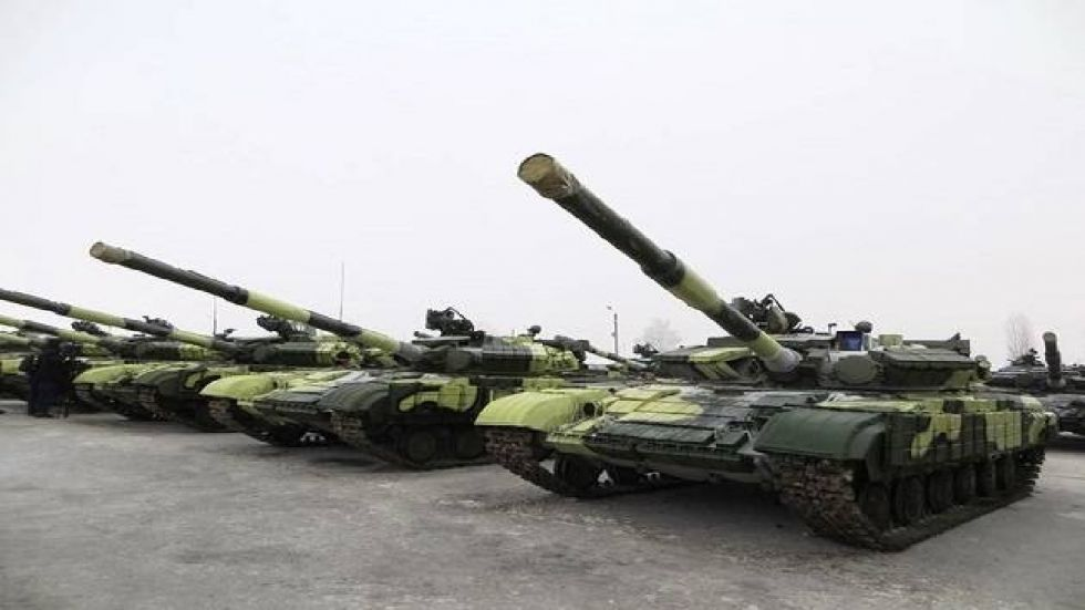 The deal includes 150 anti-tank missiles to help fight Russia-backed separatists.