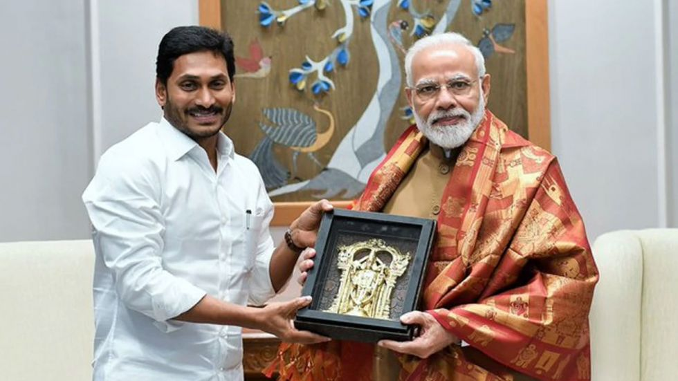 Jagan Reddy is making efforts to build bridges with the Centre as the state is reeling under an acute financial crisis.