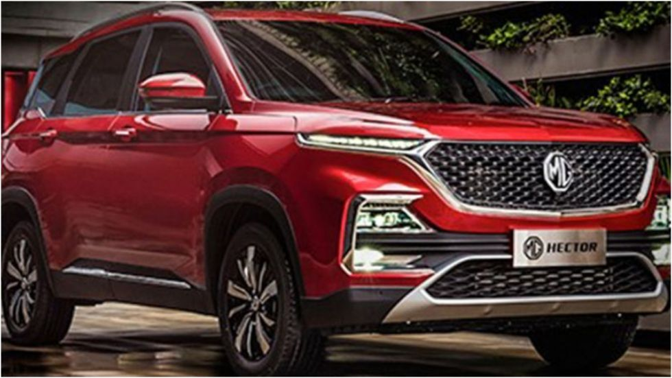MG Hector Beats Tata Harrier, Jeep Compass, Mahindra XUV500 In Q2FY20 Sales