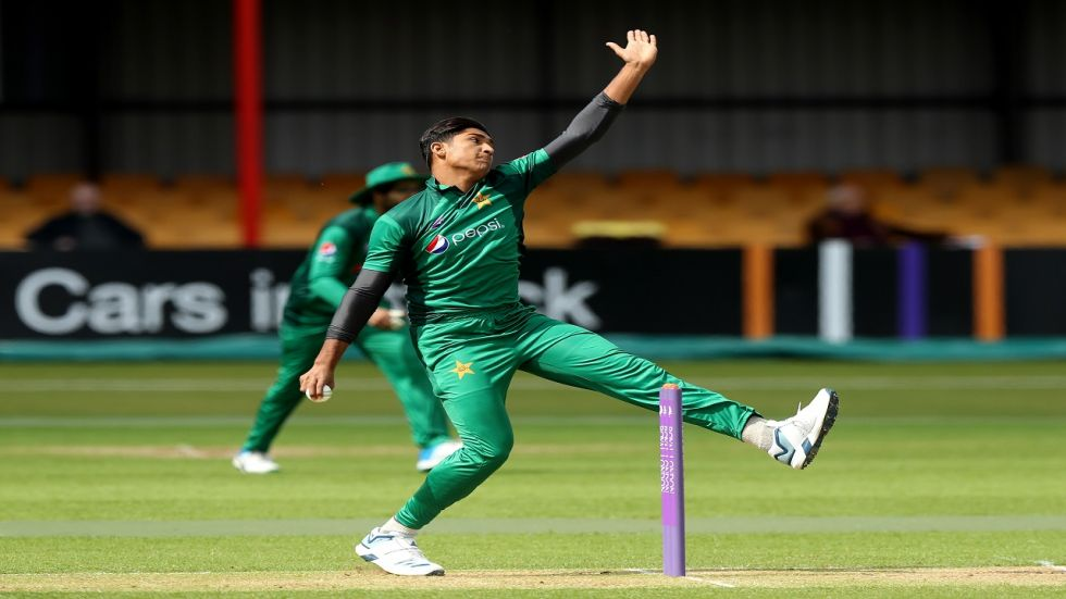 Mohammad Hasnain became the second Pakistan player and youngest ever to take a hat-trick in Twenty20 Internationals.