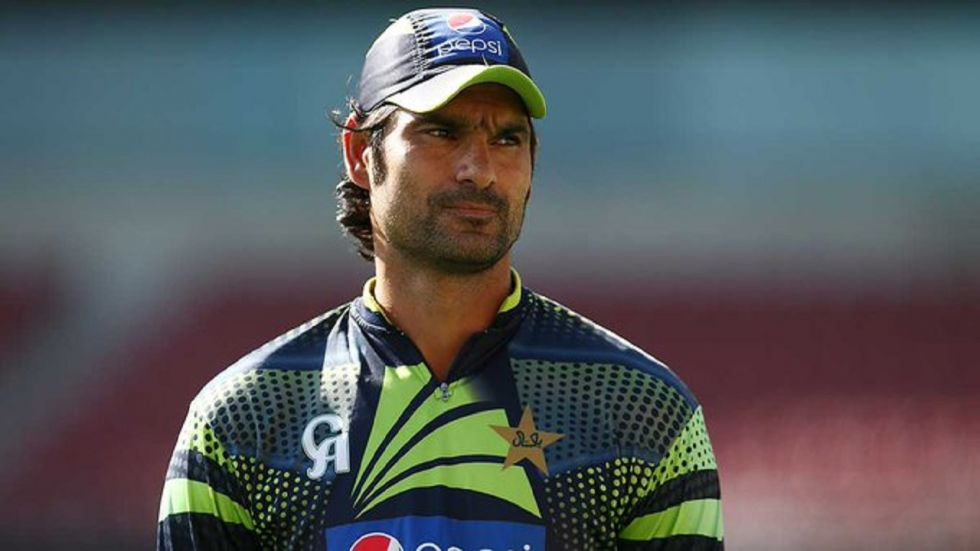 Mohammad Irfan took Gautam Gambhir's wicket twice in the three-match ODI series in 2012 which Pakistan won 2-1.