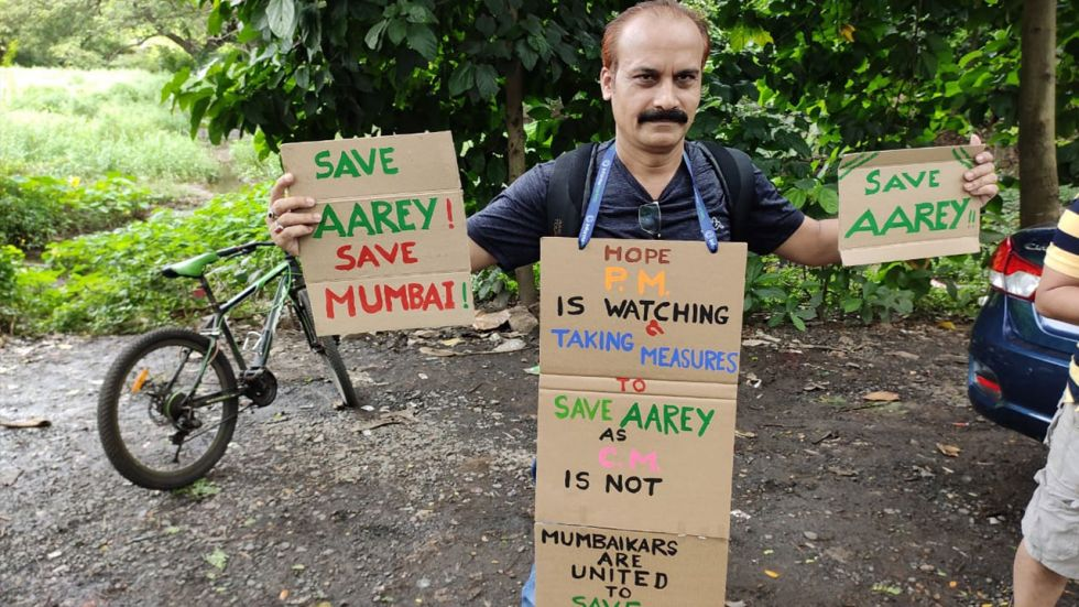 Supreme Court has already restrained authorities from cutting any more trees in Mumbai's Aarey colony for a Metro car shed.