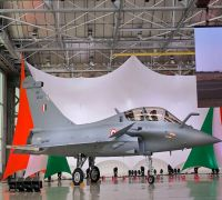 India Officially Gets First Rafale Jet From Dassault Aviation, Rajnath Singh Calls It 'Historic Day'
