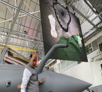 Rajnath Singh Performs 'Shastra Puja' On Rafale fighter Jet In France