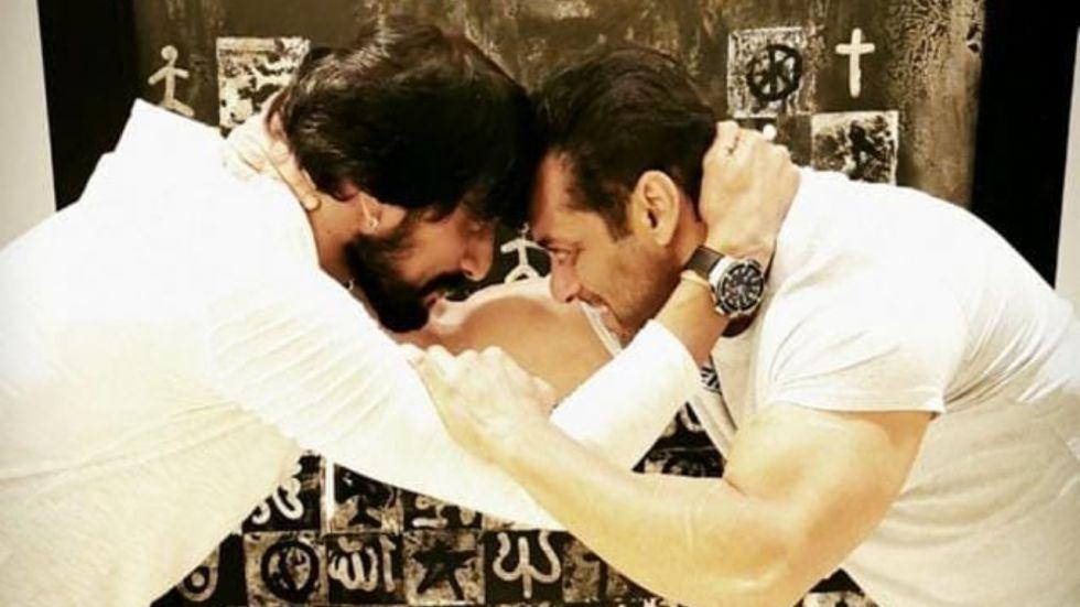 Salman Khan Shares First Look Of Kiccha Sudeep As Villain Balli.
