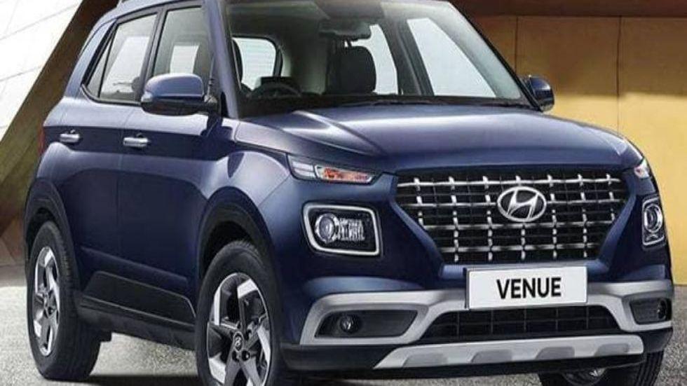Hyundai Venue Top Variant To Get Dual-Tone Paint Option