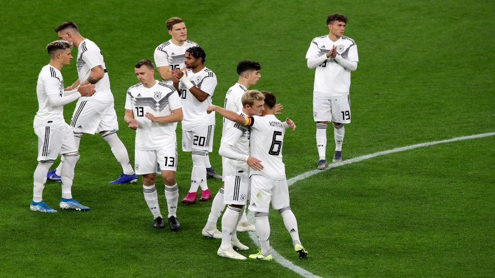 The clash between Germany and Argentina in the International Football friendly ended in a 2-2 draw.