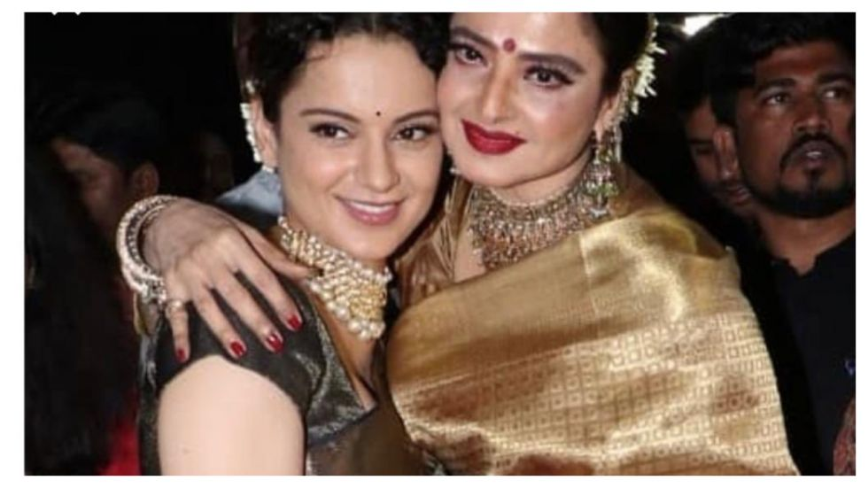 Rangoli Chandel Calls Sister Kangana Ranaut 'Wannabe Rekha'