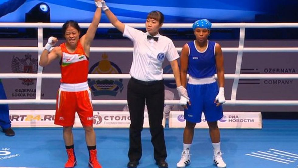 MC Mary Kom Enters Semifinal Of World Boxing Championships, Eighth Medal Assured