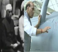 As Congress Slams 'Shastra Puja', Video Of Former PM Nehru At Launch Of India's First Ship Goes Viral