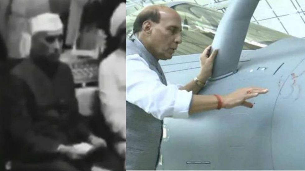 The video allegedly shows Former PM Nehru participating in the puja on March 14, 1948