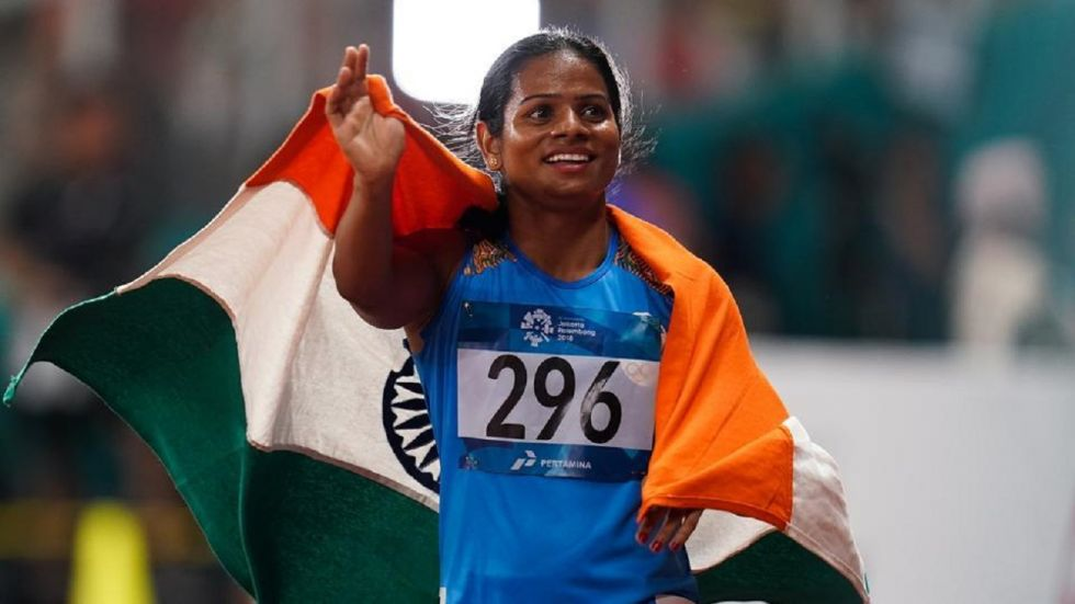 Star sprinter Dutee Chand breaks national record on way to gold at National Open Athletics