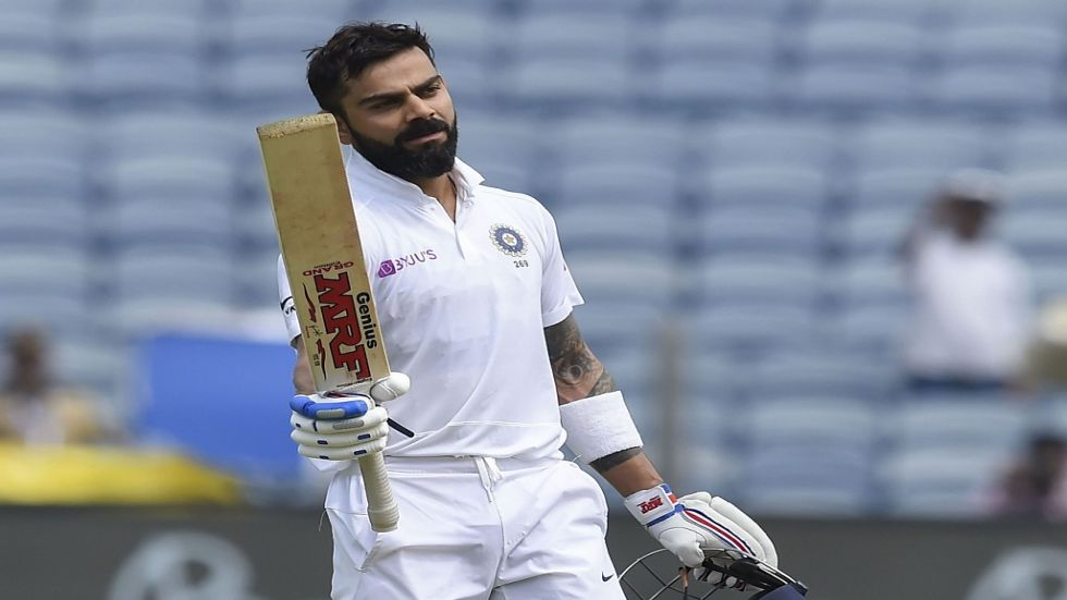 Virat Kohli smashed his seventh double ton and also went past 7000 Test runs as India dominated the Pune Test vs South Africa.