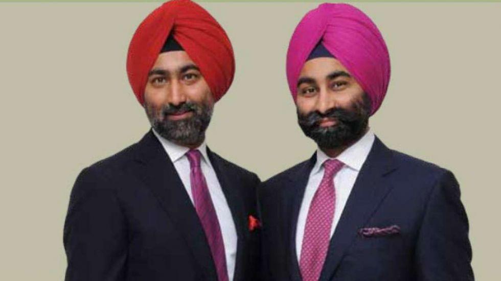 Malvinder Singh and Shivinder Singh were produced before Delhi's Saket court