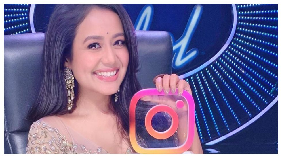 Neha Kakkar Becomes Only Musician To Be Awarded With Instagram Trophy