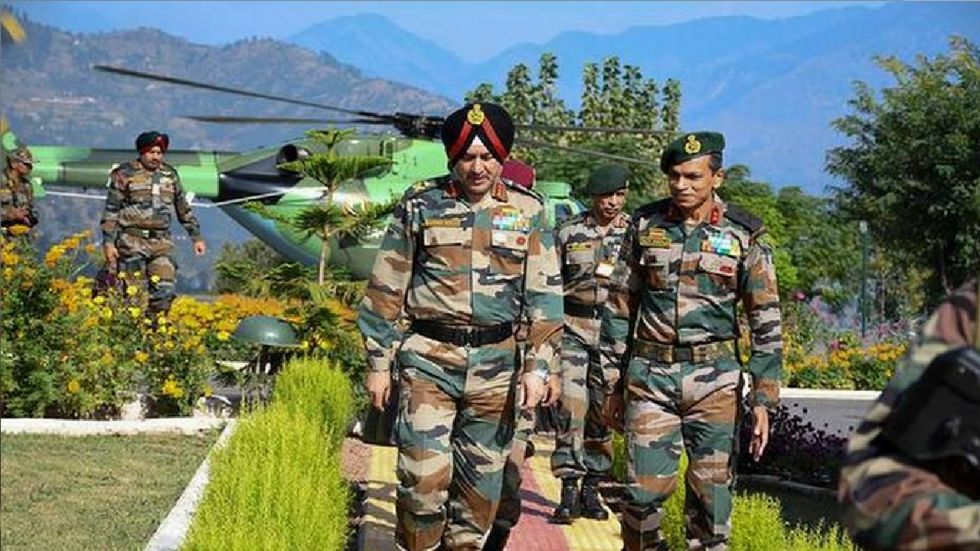 Speaking about surgical strikes, the Army commander said they remain an option.