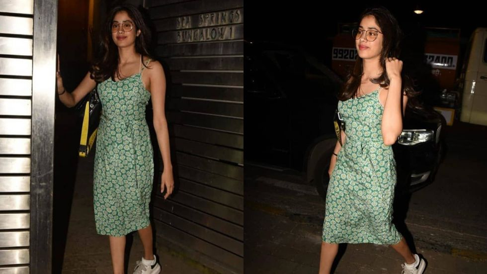 Janhvi Kapoor was spotted in an easy-breezy floral outfit.