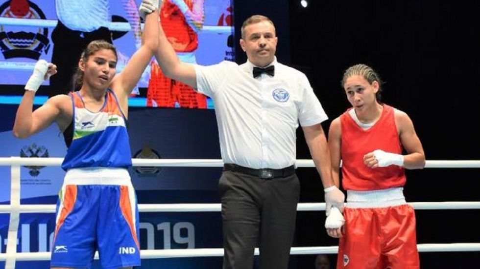 Manju Rani, seeded sixth, defeated Thailand's Chuthamat Raksat 4-1 in her semifinal bout