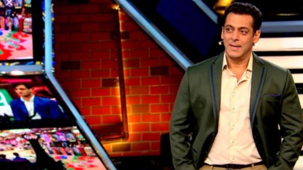Salman Khan on Weekend Ka Vaar episode.