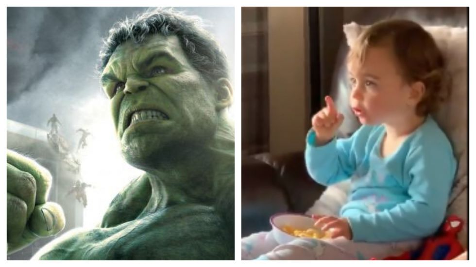 Mark Ruffalo Thinks Toddler's Video Is 'The Secret Way' To Stop Hulk Transformation